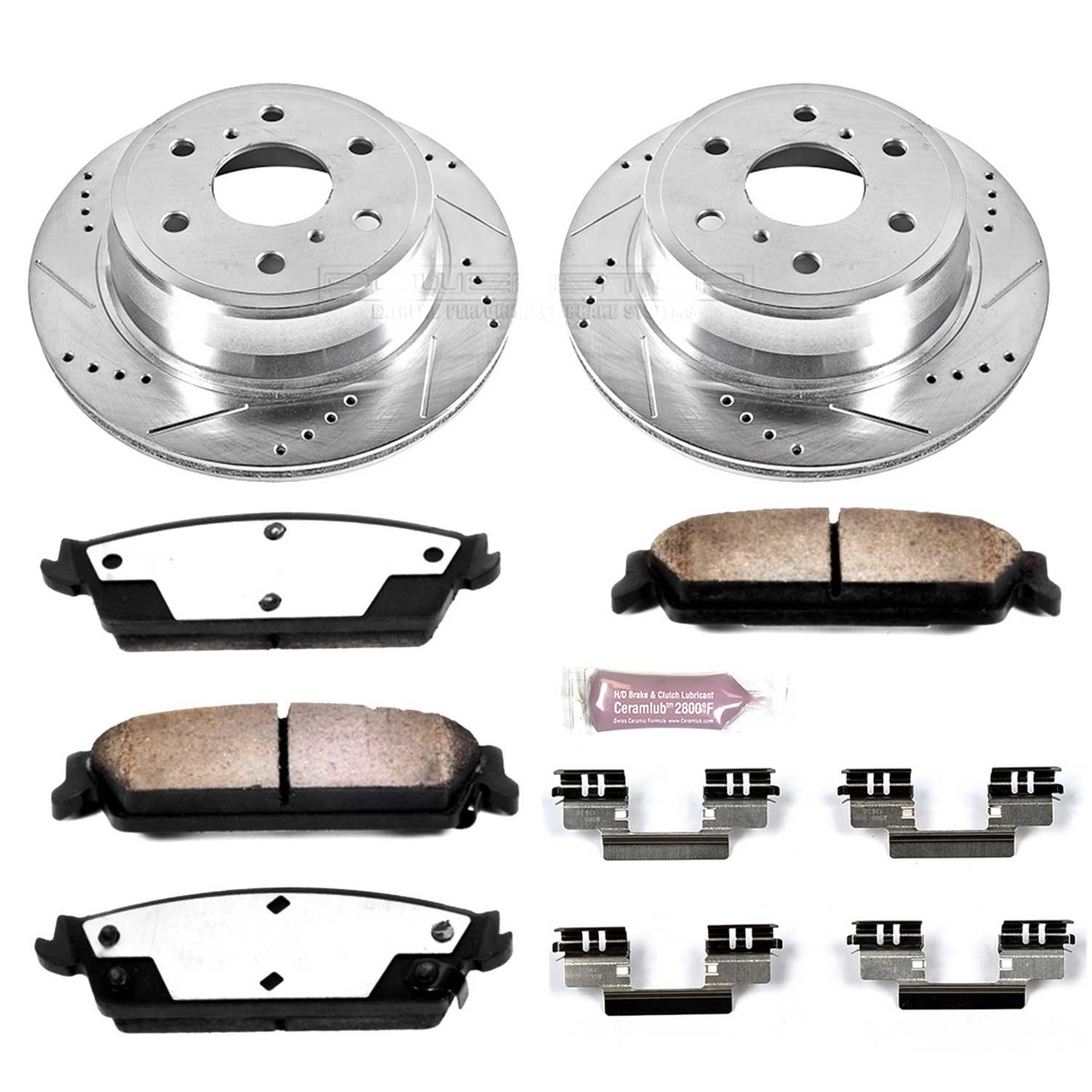 Power Stop K2070-36 1-Click Extreme Truck and Tow Brake Kit