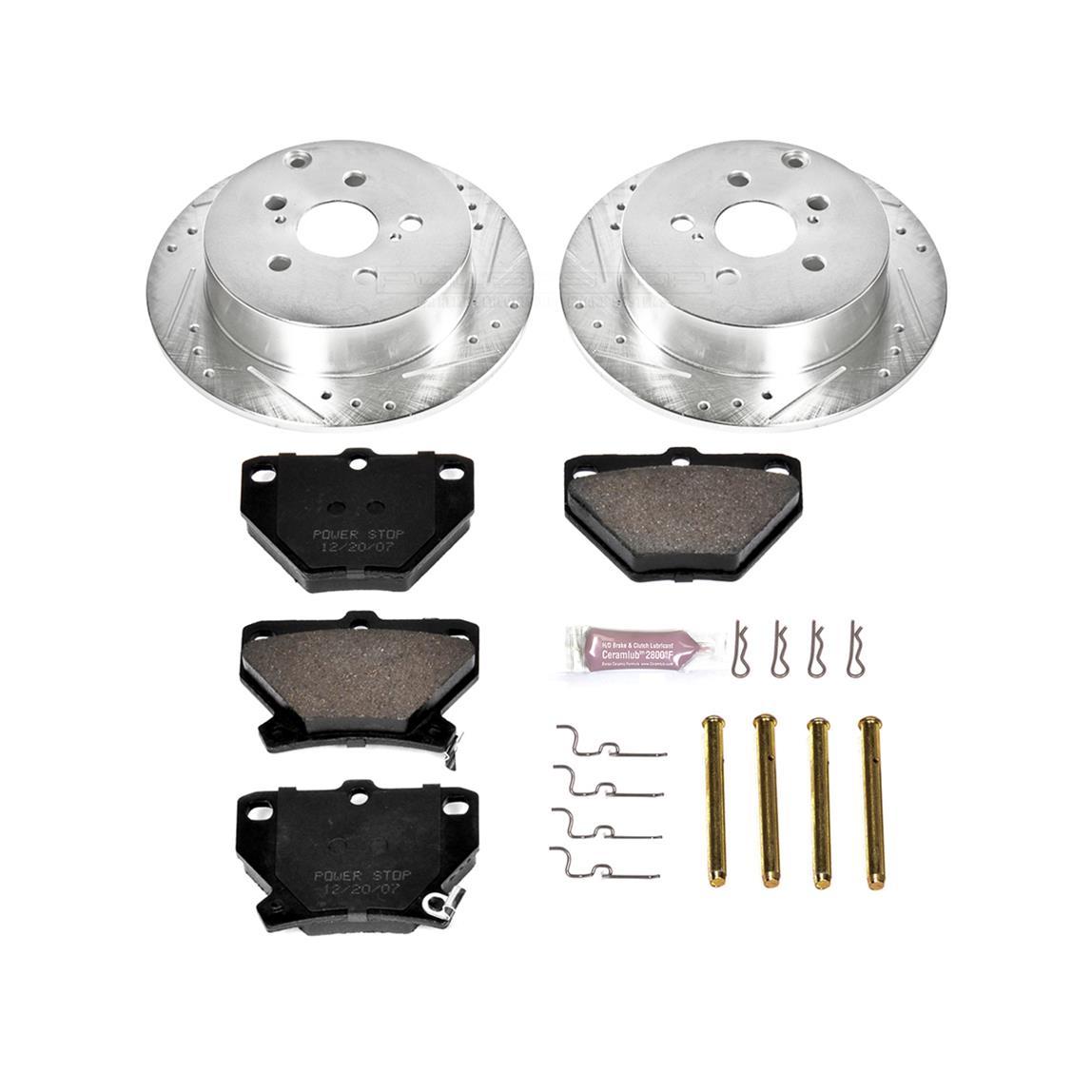 CRK2316 Power Stop Z17 Evolution Brake Kits