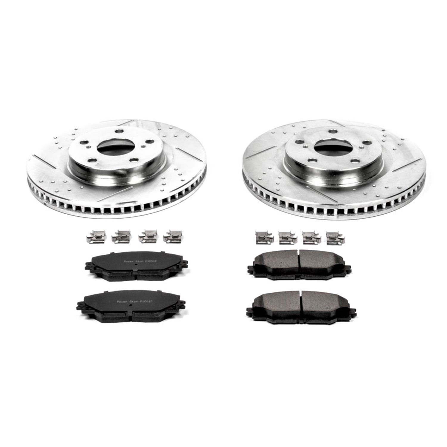 Autospecialty 1-Click OE Replacement Brake Kit KOE4099