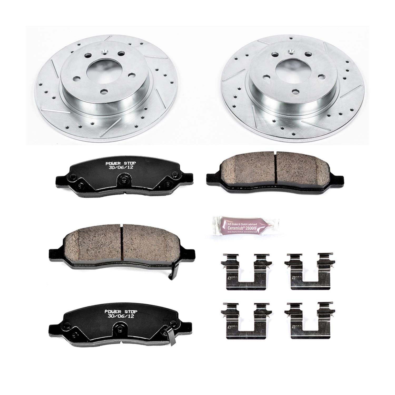 Autospecialty KOE4654 1-Click OE Replacement Brake Kit