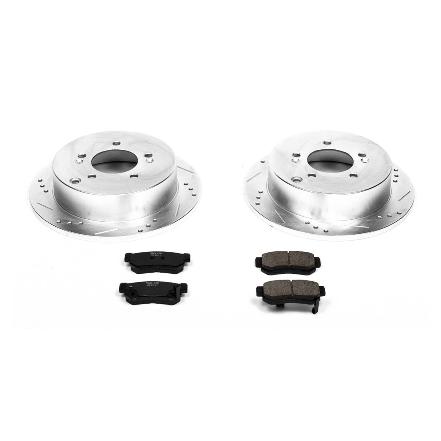 StopTech 925.66005 Select Sport Axle Pack