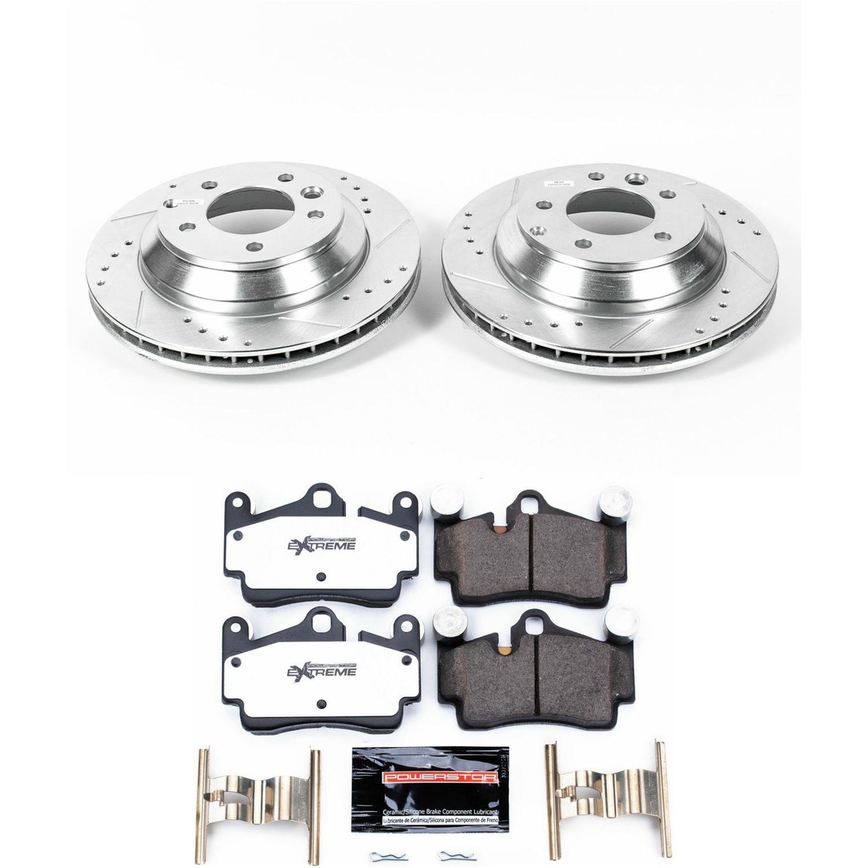 Power Stop K5312 Rear One-Click Brake Kit