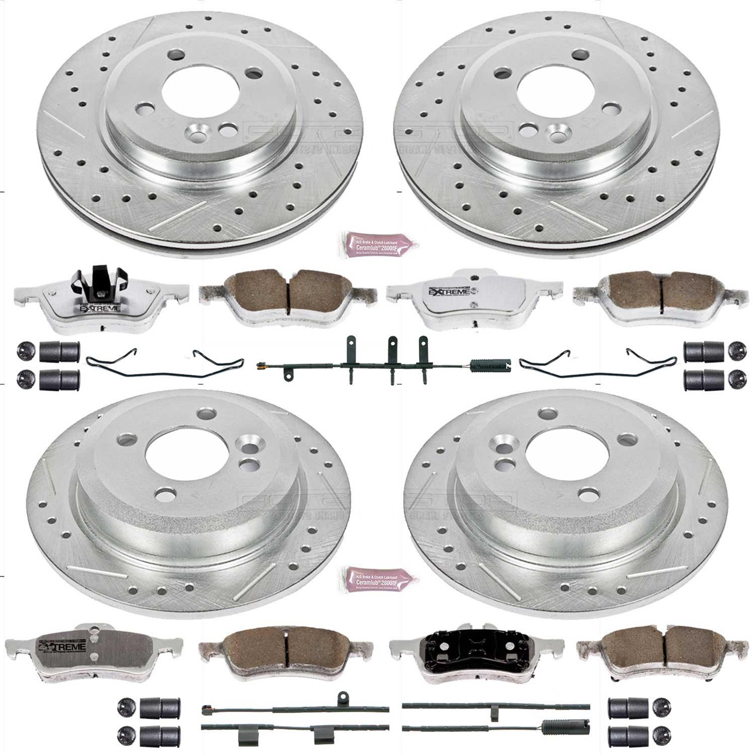 Autospecialty KOE5725 1-Click OE Replacement Brake Kit Power Stop