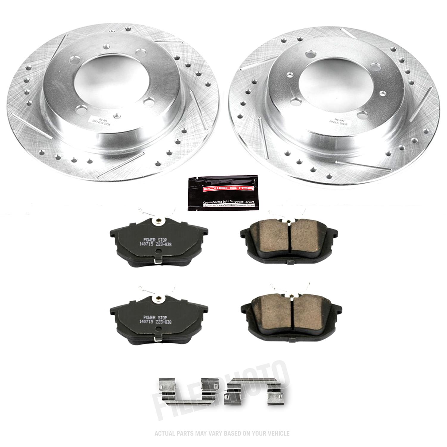 Autospecialty KOE912 1-Click OE Replacement Brake Kit