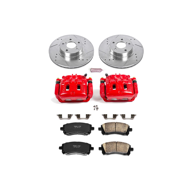 Power Stop K1120-26 1-Click Street Warrior Z26 Brake Kit