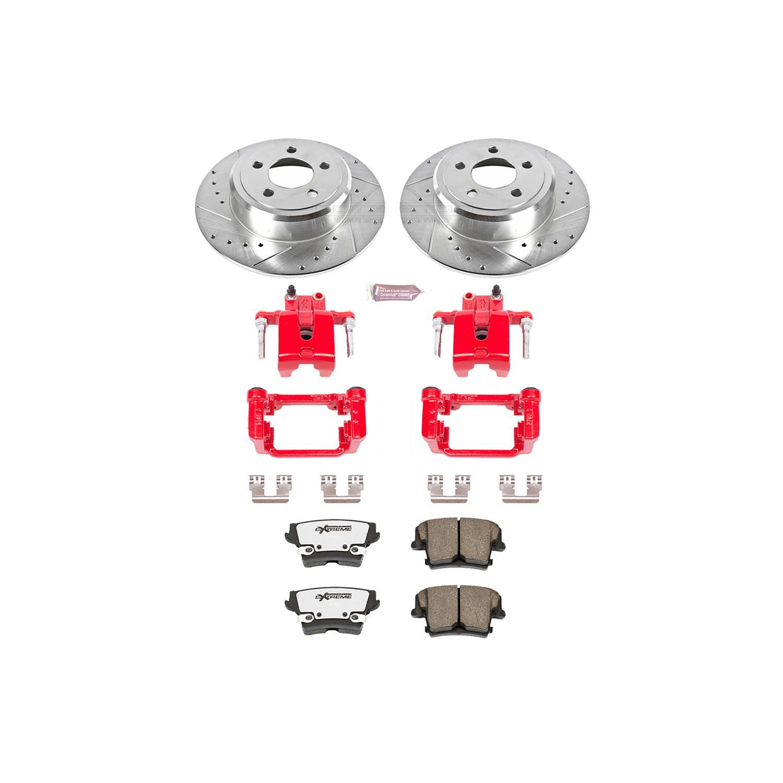 Power Stop Rear Z23 Evolution Sport Brake Pads Z23-332
