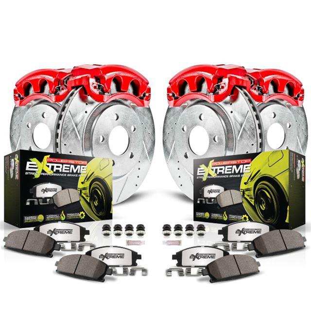 Power Stop Brakes >> Power Stop Z26 Street Warrior Performance Brake Kits With Calipers Kc6327 26