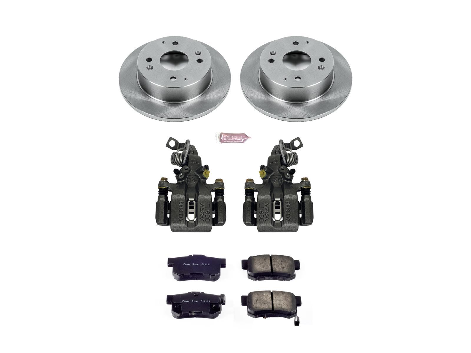 Power Stop KC3164 Z23 Evolution Sport Brake Kit with Calipers