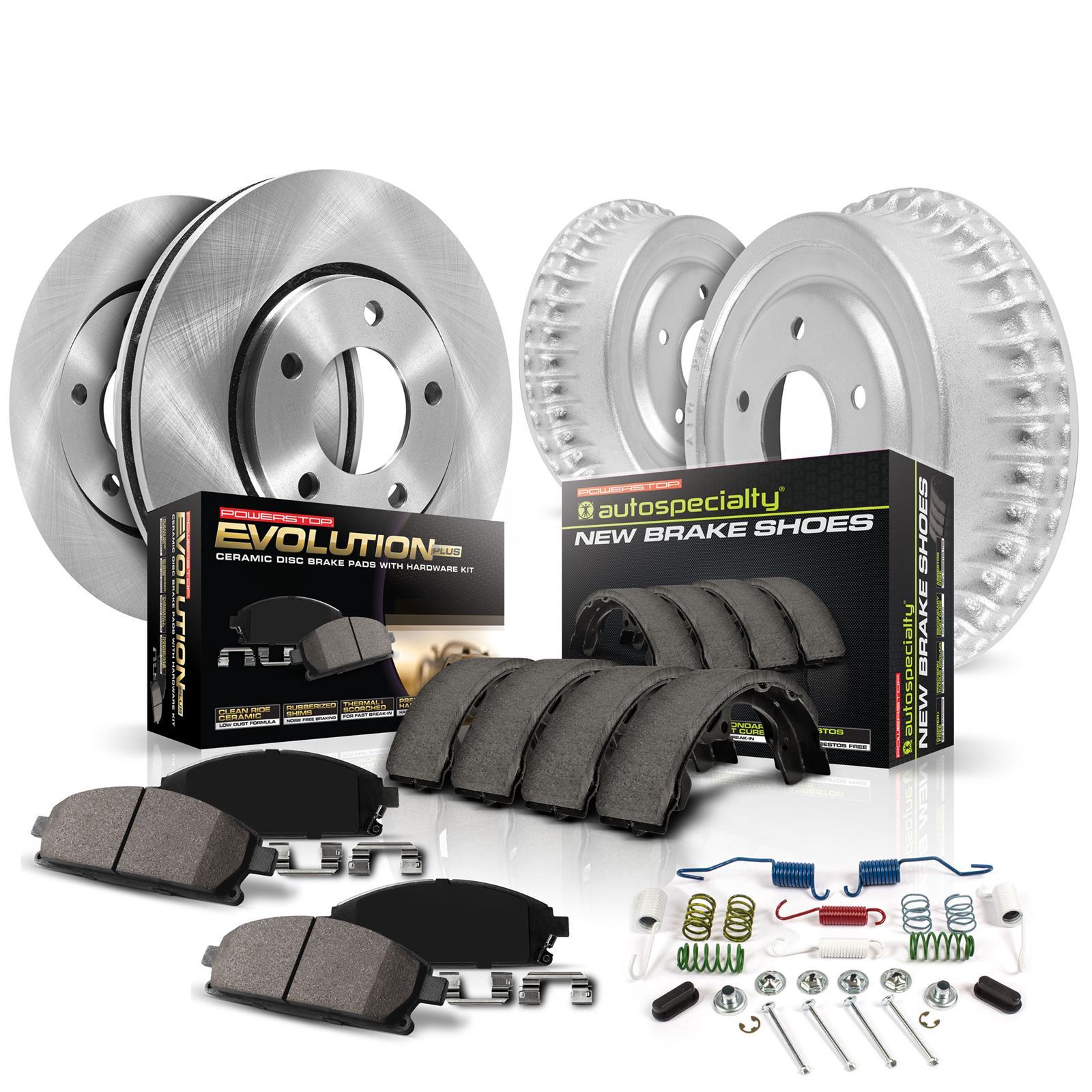 Power Stop Evolution Ceramic Disc Brake Pads for 2005-2017 Toyota Tacoma of