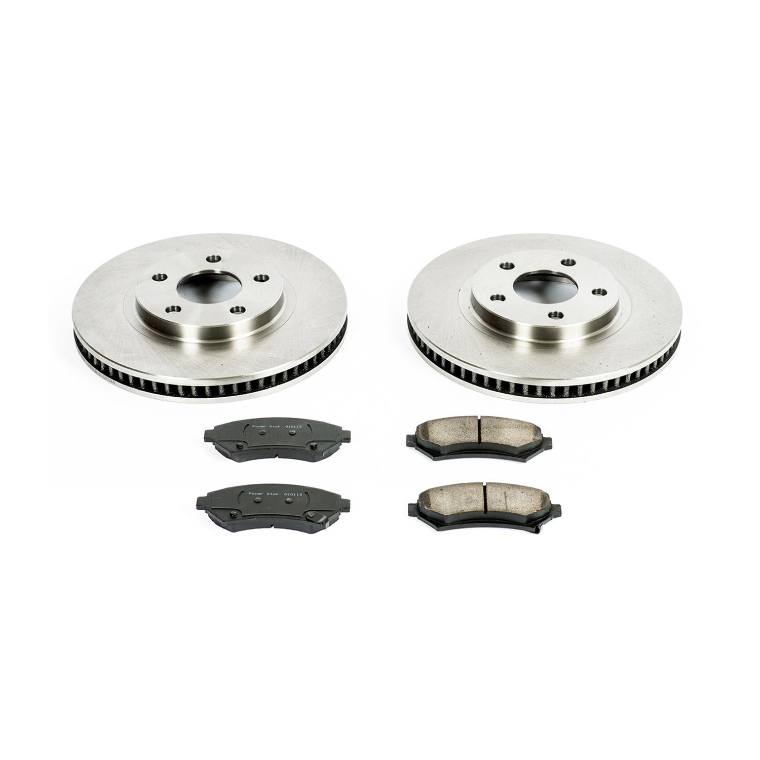 Autospecialty KOE1543 1-Click OE Replacement Brake Kit