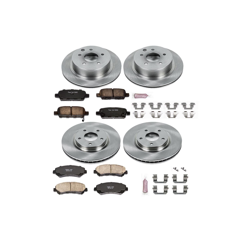 Rear Power Stop Daily Driver OE Brake Kit Autospecialty KOE720