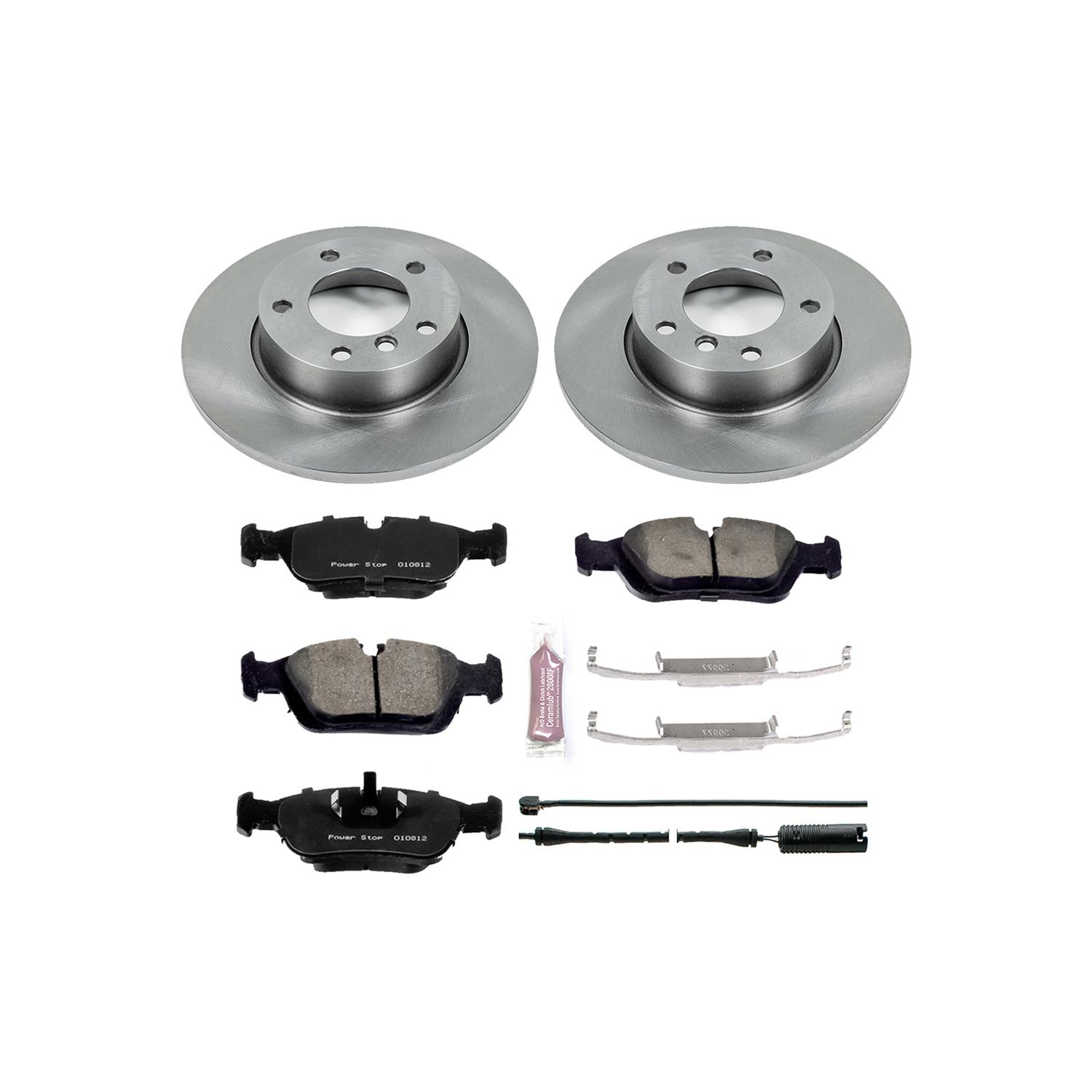 KOE108 Autospecialty 1-Click OE Replacement Brake Kit Power Stop