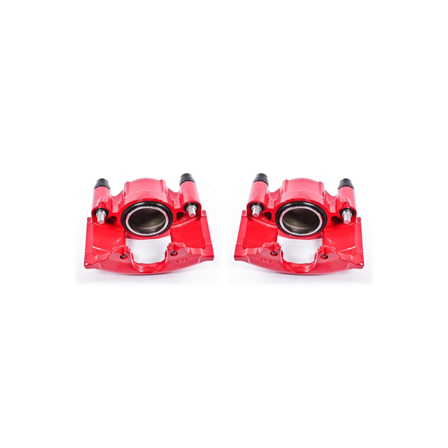 Power Stop S4654C Performance Front Powder Coated Caliper Pair