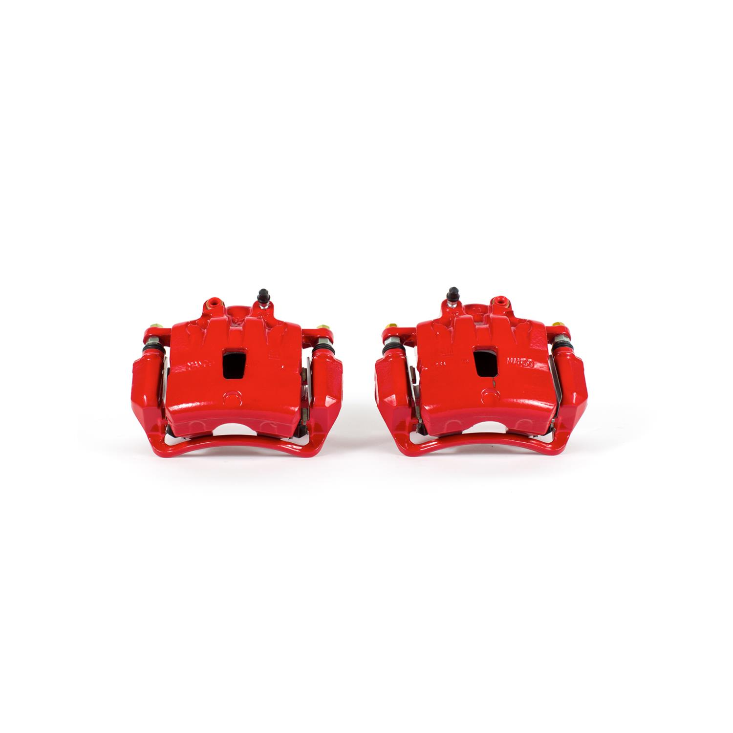 Power Stop S5284 Red Powder-Coated Performance Caliper