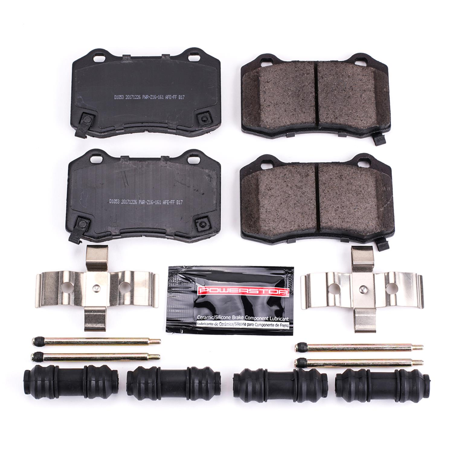 Z23 Evolution Front Carbon-Fiber Ceramic Brake Pads Power Stop Z23-6006