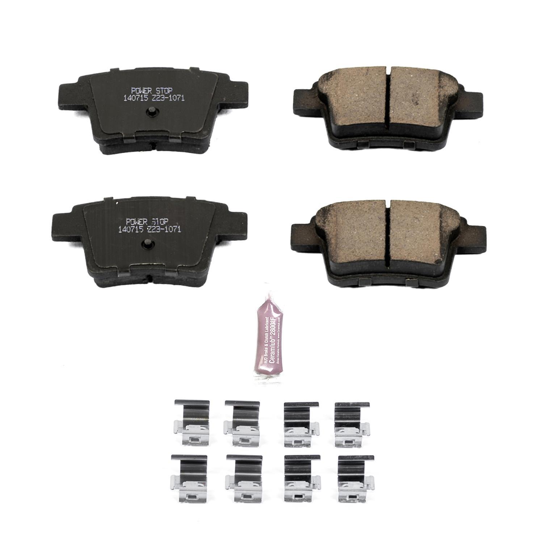 Rear Z23-1602 Power Stop Z23 Evolution Sport Brake Pads