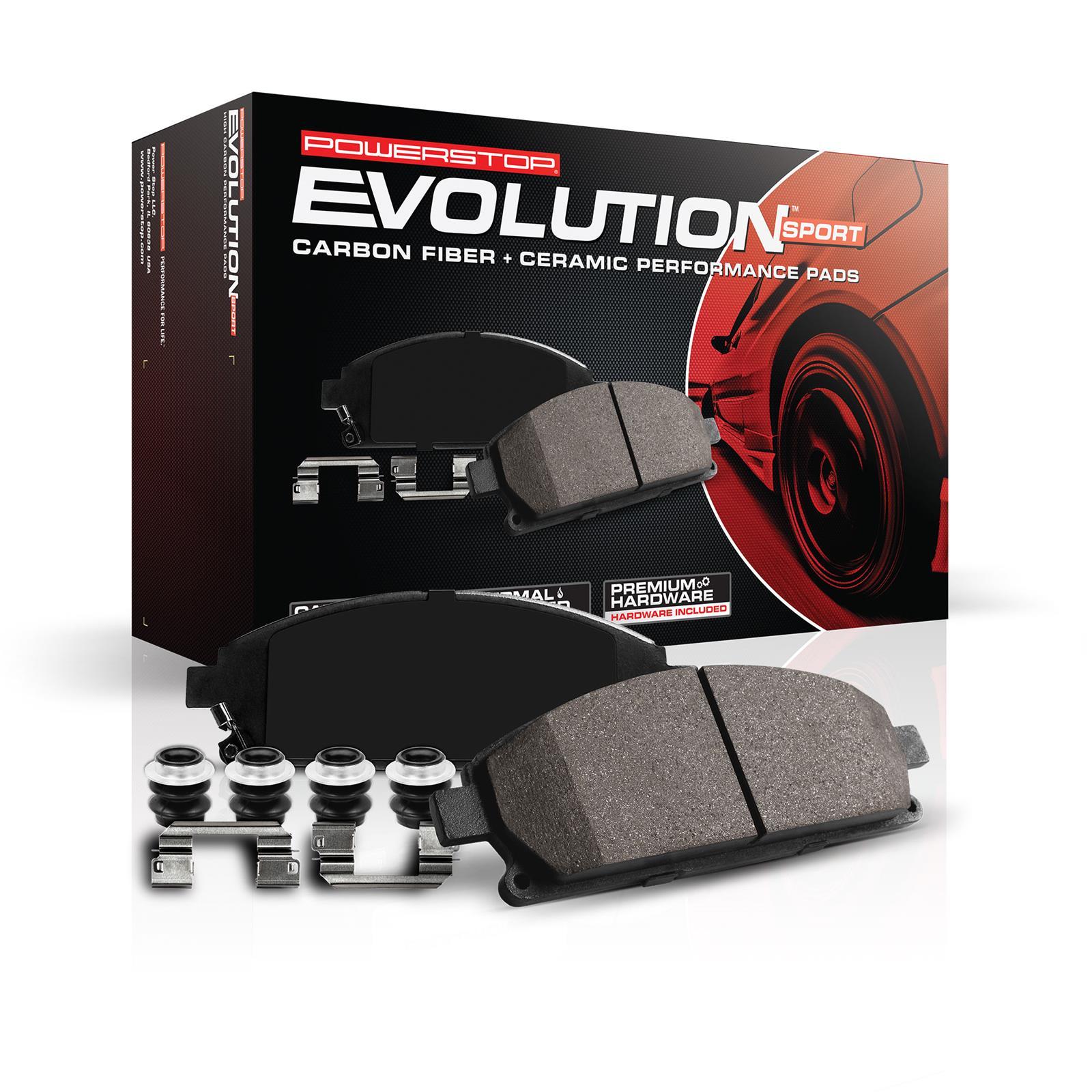 Power Stop Z23 Evolution Sport Carbon Fiber Infused Ceramic Brake
