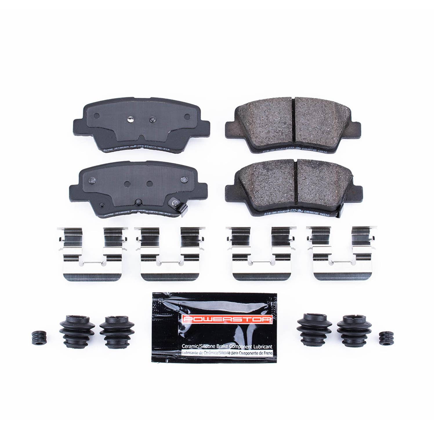 Z23 Evolution Sport Carbon-Fiber Ceramic Rear Brake Pads Power Stop Z23-714