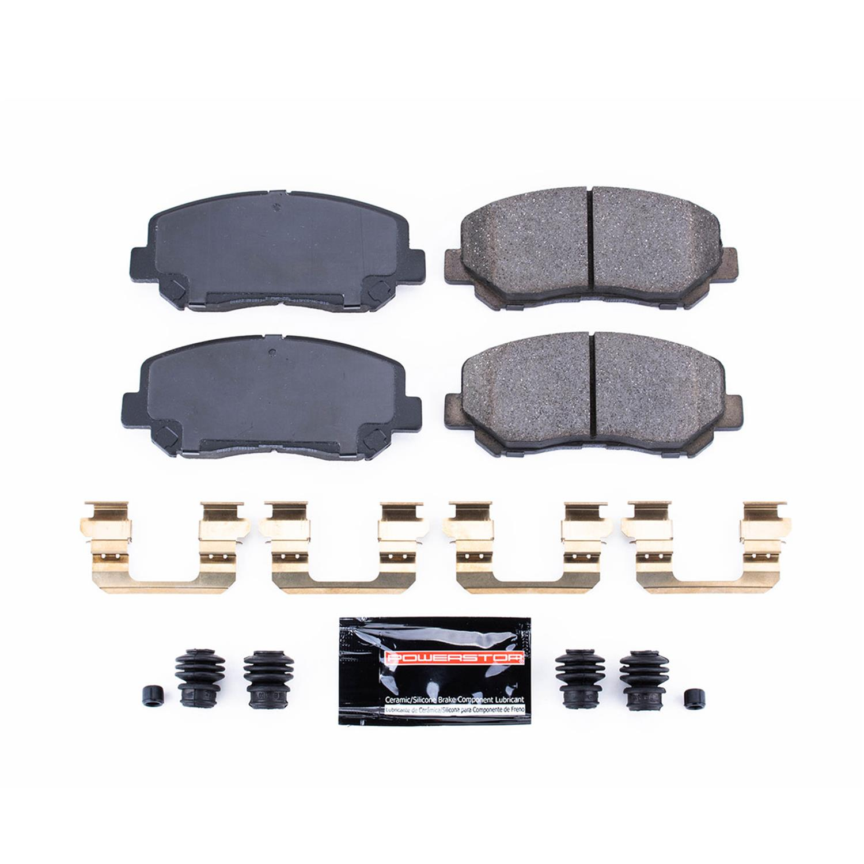 Z23 Evolution Rear Carbon-Fiber Ceramic Brake Pads Power Stop Z23-1624