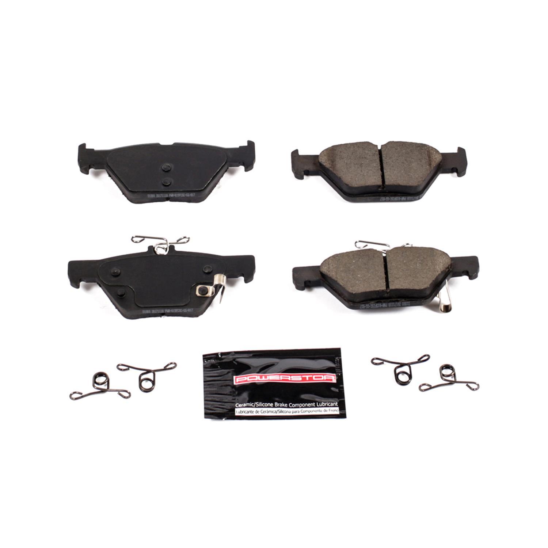 Z23 Evolution Sport Carbon-Fiber Ceramic Rear Brake Pads Power Stop Z23-911