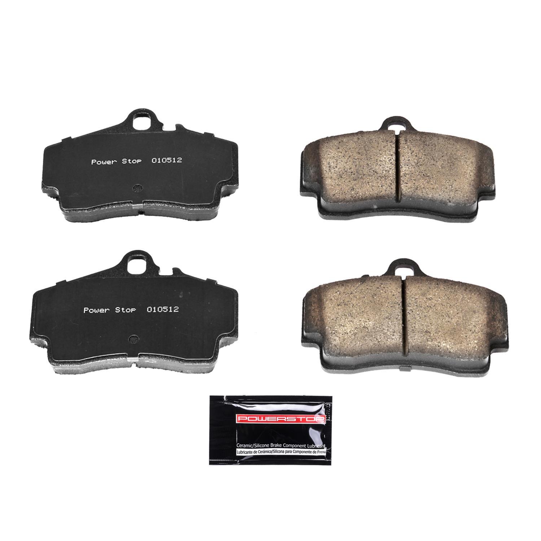 Power Stop Z23-1807 Z23 Evolution Sport Carbon Fiber Infused Ceramic Brake Pad with Hardware