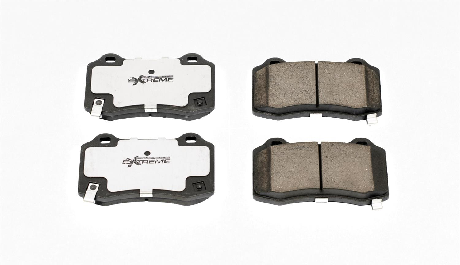 Power Stop Z26 Street Warrior Carbon Fiber-Ceramic Brake Pads Z26-1053 -  Free Shipping on Orders Over $99 at Summit Racing