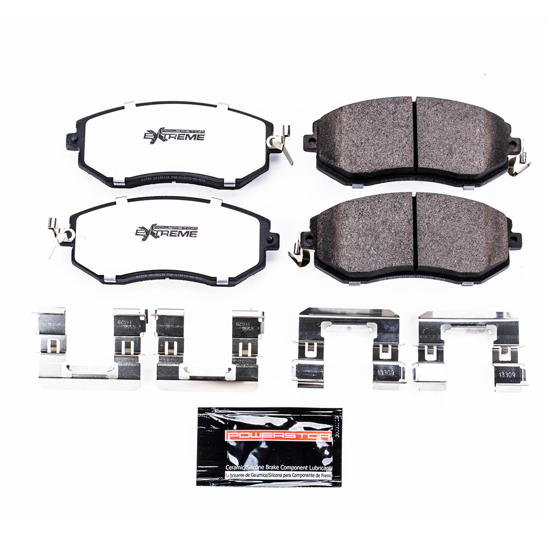 Z26 Front Carbon-Fiber Ceramic Brake Pads Power Stop Z26-1539