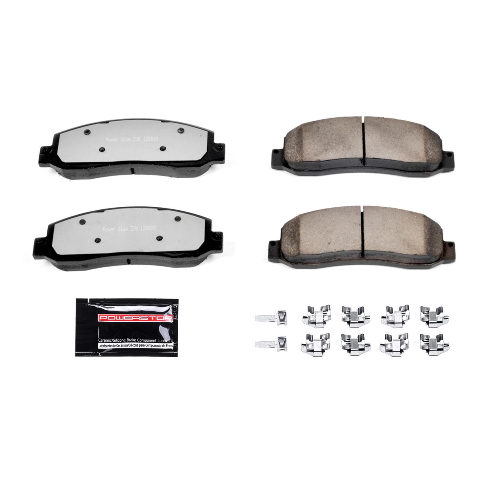 Z36 Truck and Tow Brake Pad Z36-1067 Power Stop