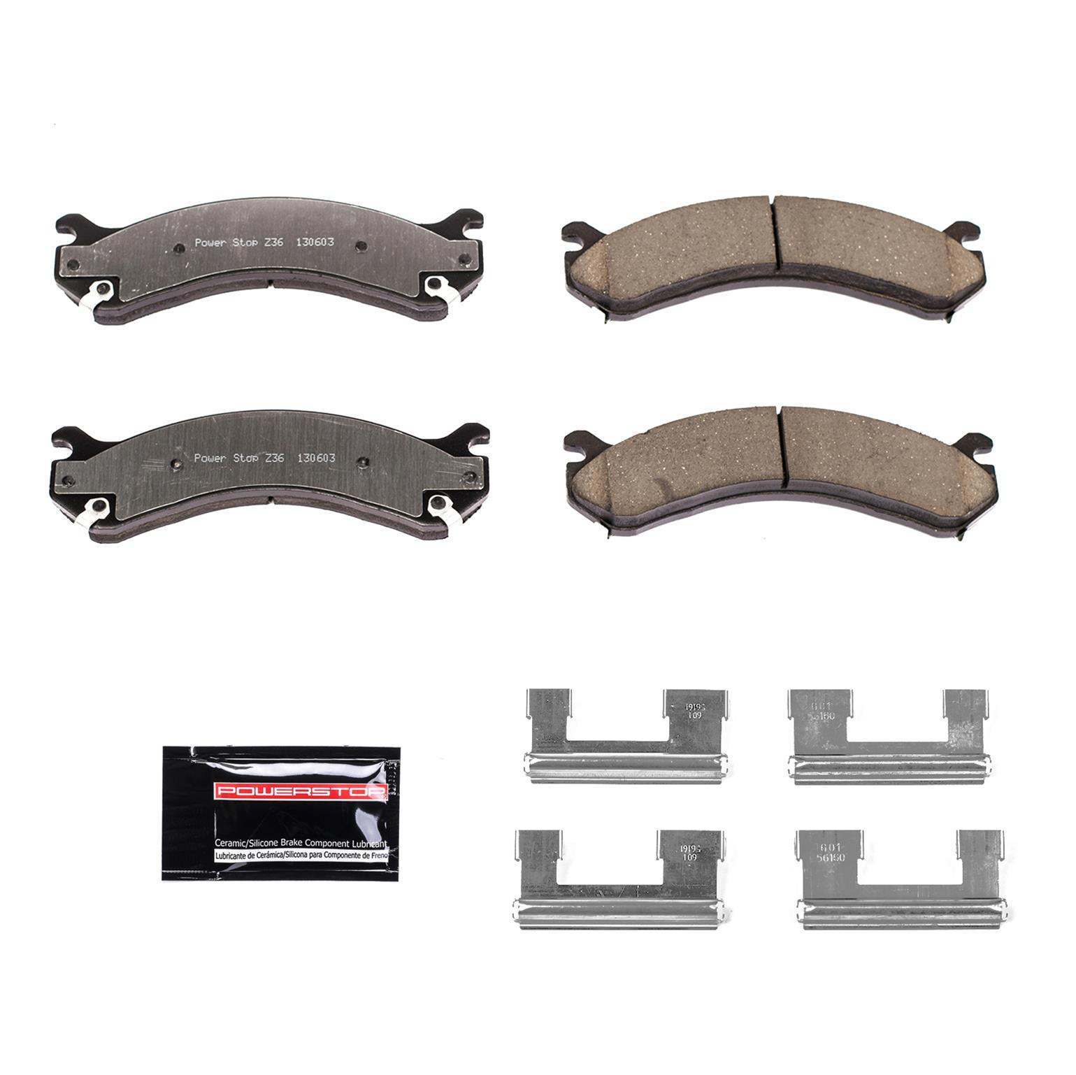 Z36 Truck and Tow Brake Pad Power Stop Z36-784