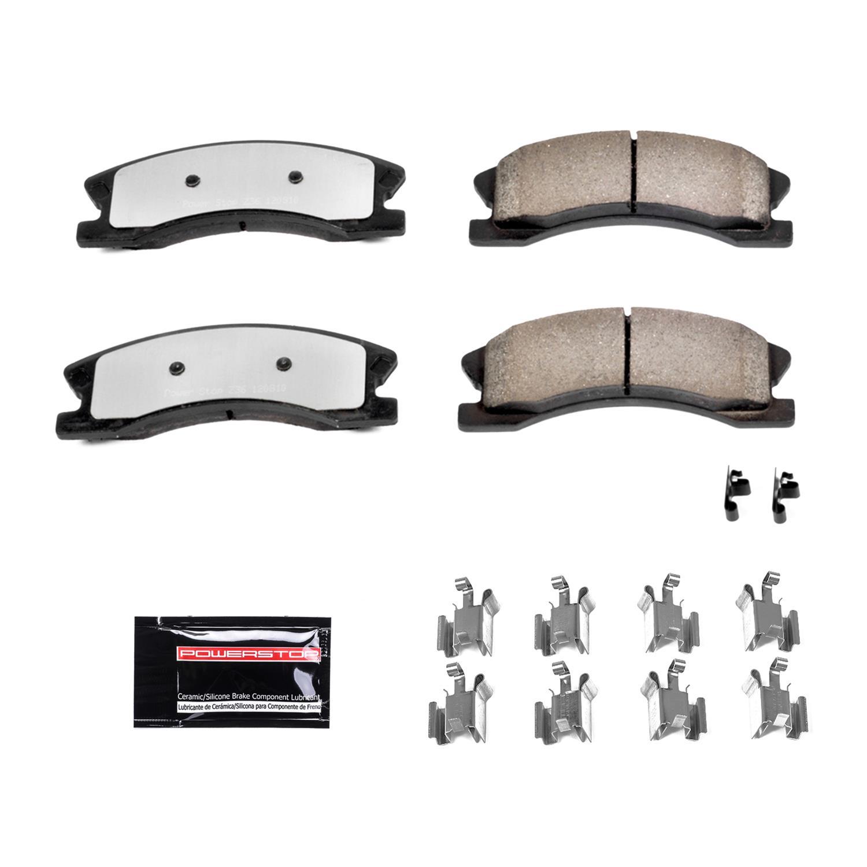 Power Stop 16-2018 Z16 Evolution Front Ceramic Brake Pads