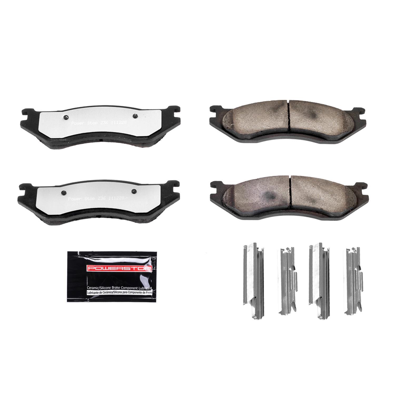 Monroe CX905A Rear Ceramic Brake Pad Set