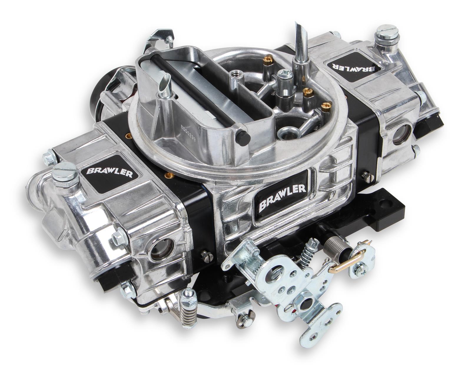 Proform 67214 Street Series 850 CFM Polished Aluminum Dual Inlet 4-Barrel Square Bore Mechanical Secondary Carburetor with Electric Choke