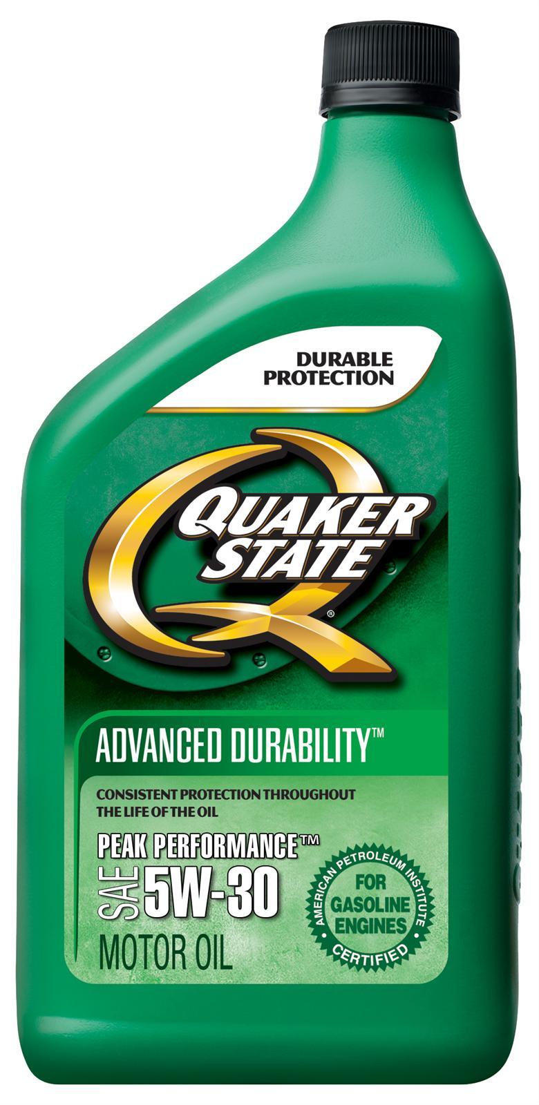 Quaker State Advanced Durability Motor Oil 550035180 12