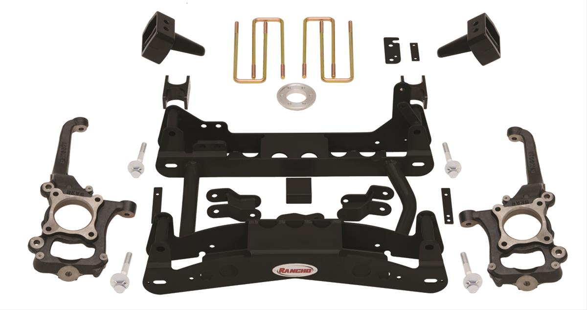 Rancho Lift Kits >> Rancho Suspension Lift Kits Rs6519b