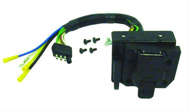 Reese Towpower Vehicle Towing Wiring Harness Adapters 85343 - Free on wire alligator clips electrical, torque converter components, speaker components, electronic circuit components,