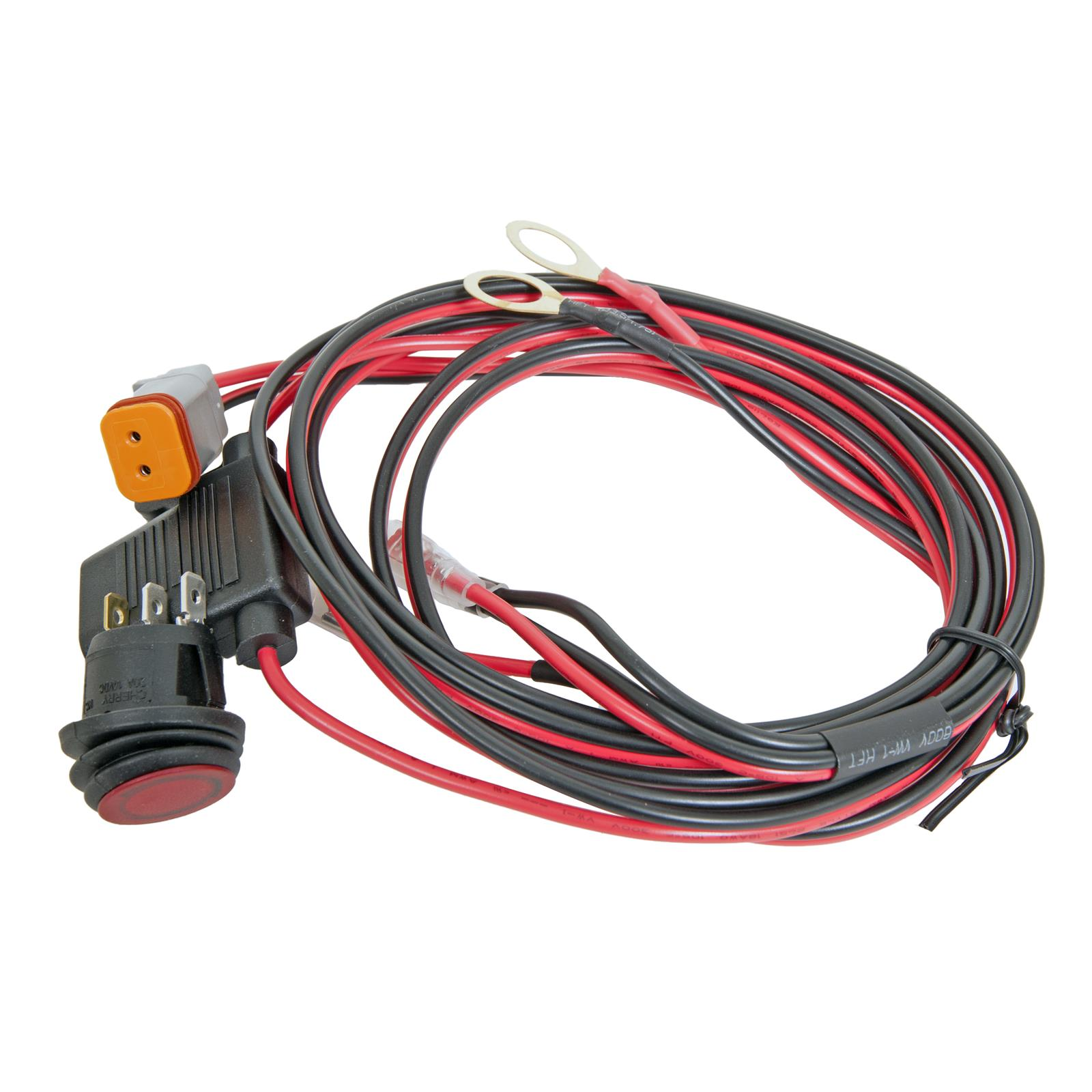 rigid industries srm srq series light wiring harnesses 40199 freerigid industries srm srq series light wiring harnesses 40199 free shipping on orders over $99 at summit racing