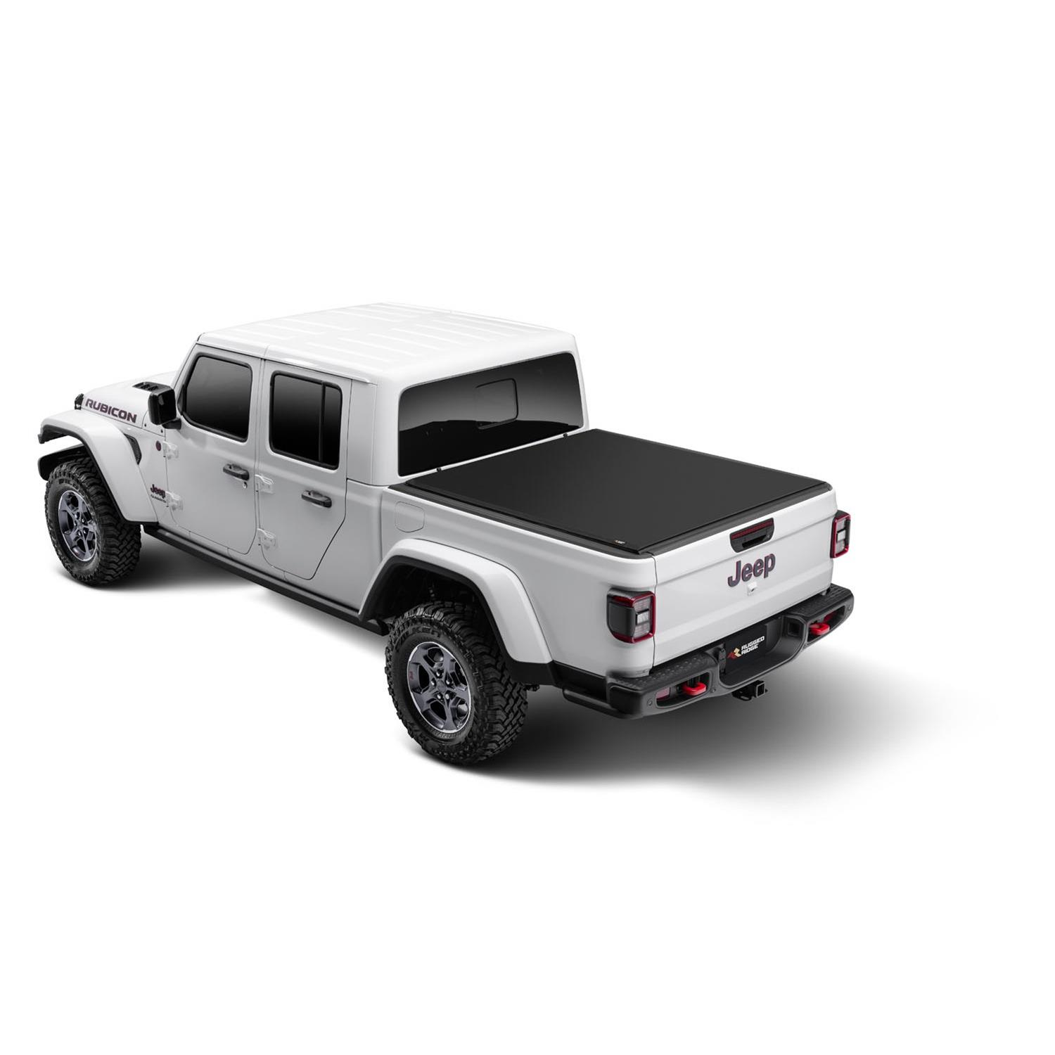 Rolling Truck Bed Covers >> Rugged Ridge Armis Soft Rolling Bed Covers 13550 22