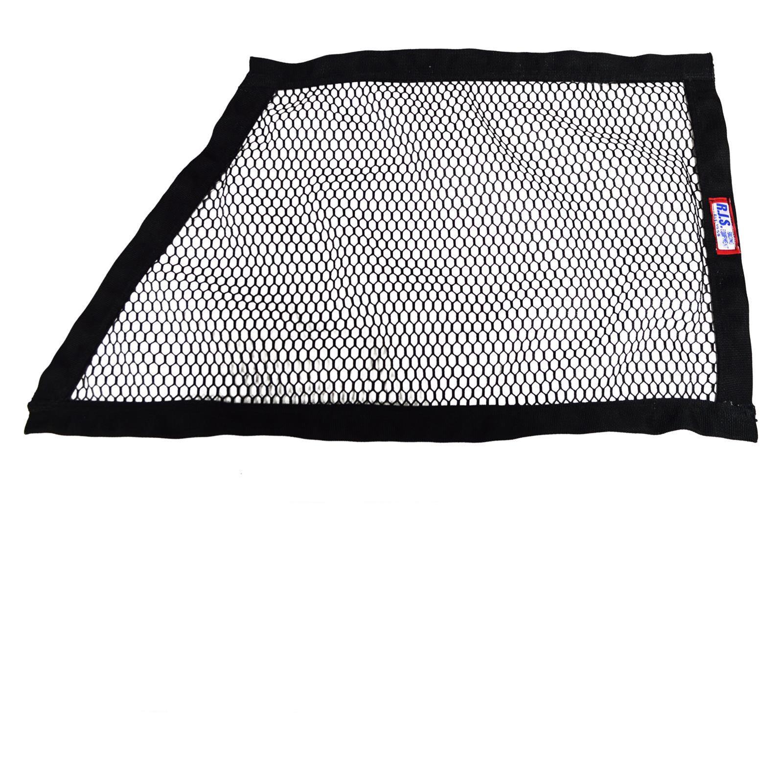 RJS Racing Equipment 10000201 Black Window Net