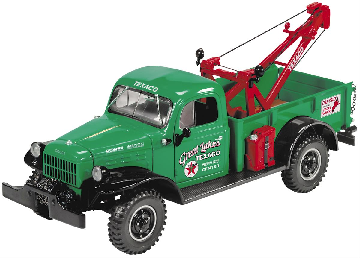 1 24 scale texaco 1946 dodge power wagon tow truck diecast. Black Bedroom Furniture Sets. Home Design Ideas