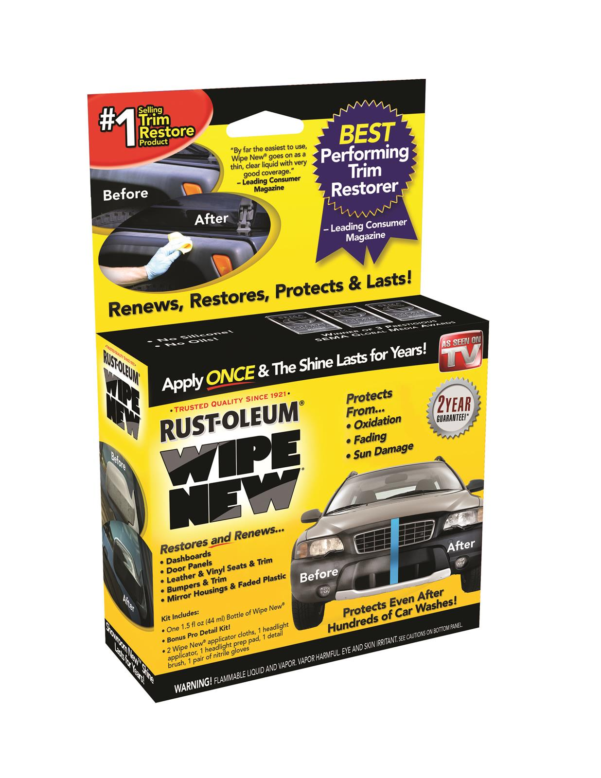 rust oleum corporation 15ozcal wipe new trim kit ca ebay. Black Bedroom Furniture Sets. Home Design Ideas