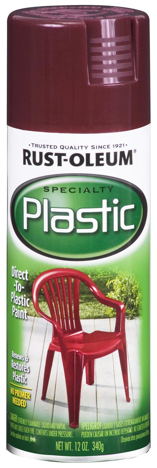 rust oleum paint for plastic sprays 211362 free shipping. Black Bedroom Furniture Sets. Home Design Ideas