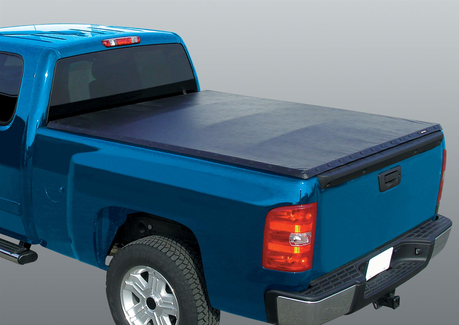 Rugged liner tonneau cover snap soft roll up type vinyl for Types of bed covers