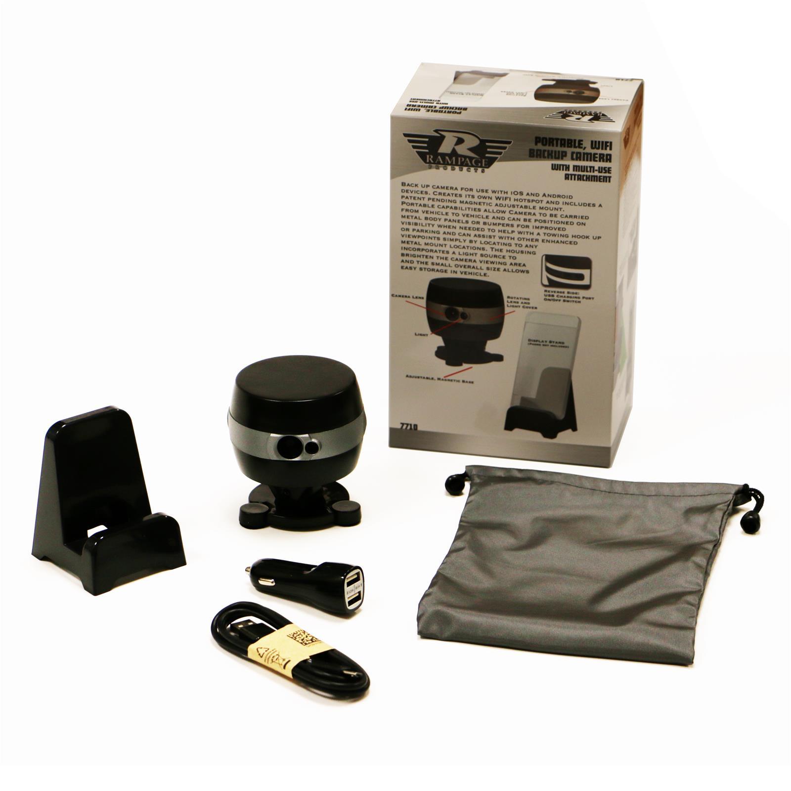 Rampage 7710 Backup Camera Portable Wi Fi Wiring Kit eBay #847147