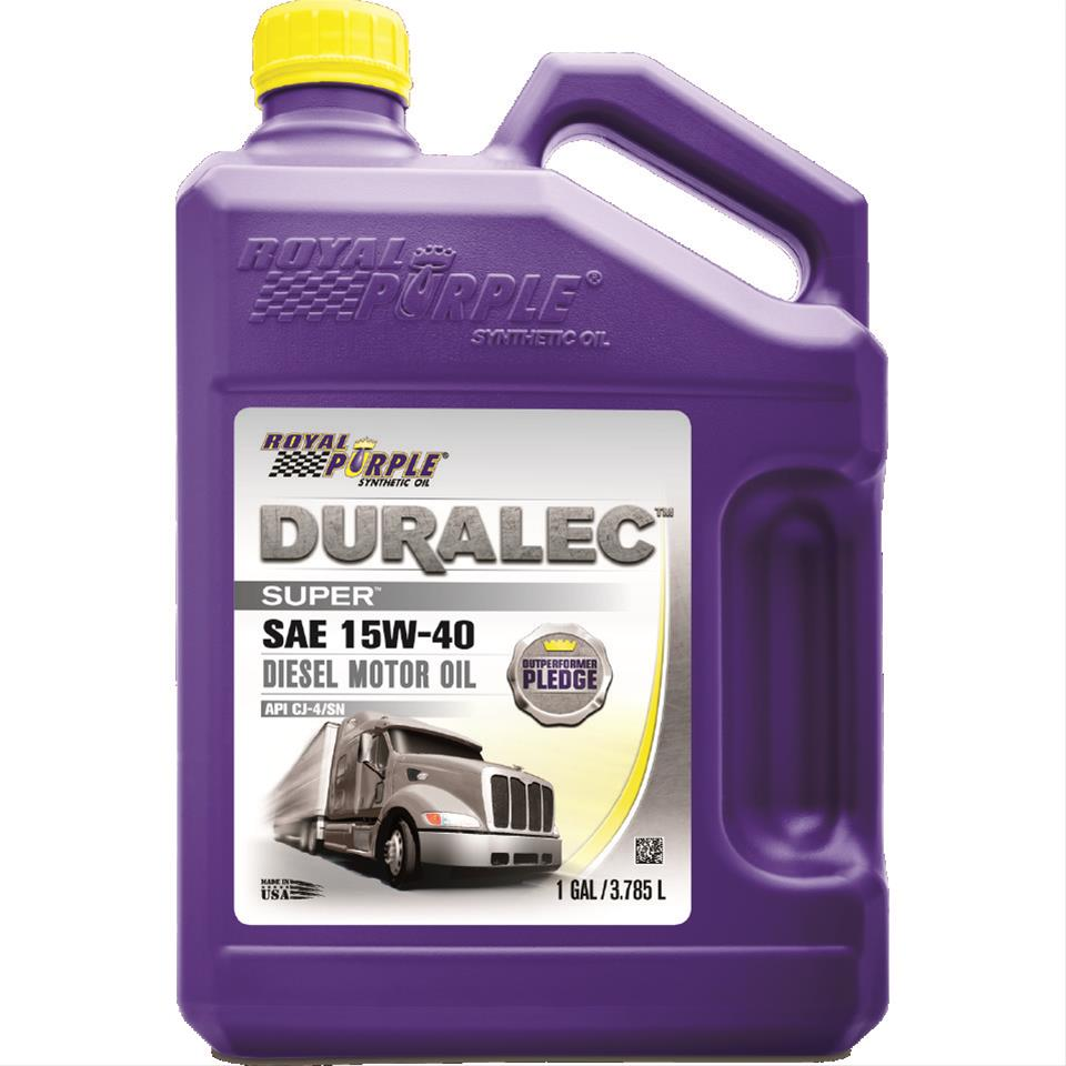 Royal purple 04154 motor oil multi grade synthetic 15w40 for Synthetic motor oil sale