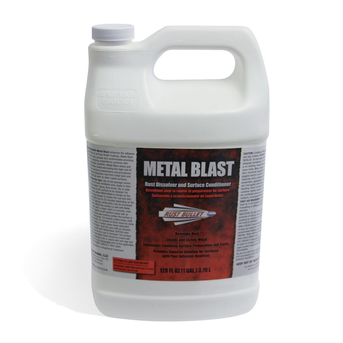 rust bullet cleaning solution metal blast 1 gallon each ebay. Black Bedroom Furniture Sets. Home Design Ideas