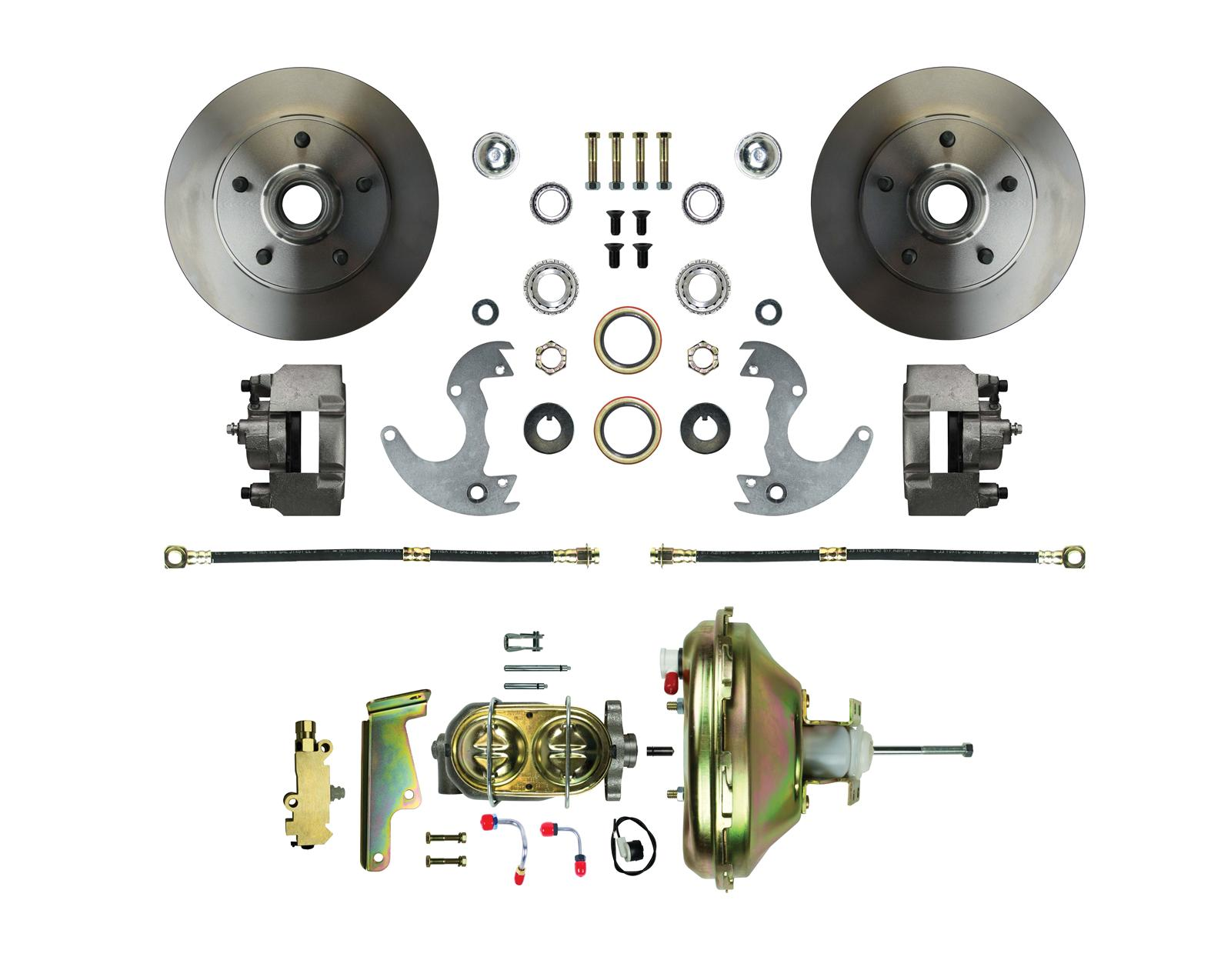 Right Stuff Detailing Disc Brake Conversion Kits for 14 in. Wheels AFXDC14  - Free Shipping on Orders Over $99 at Summit Racing