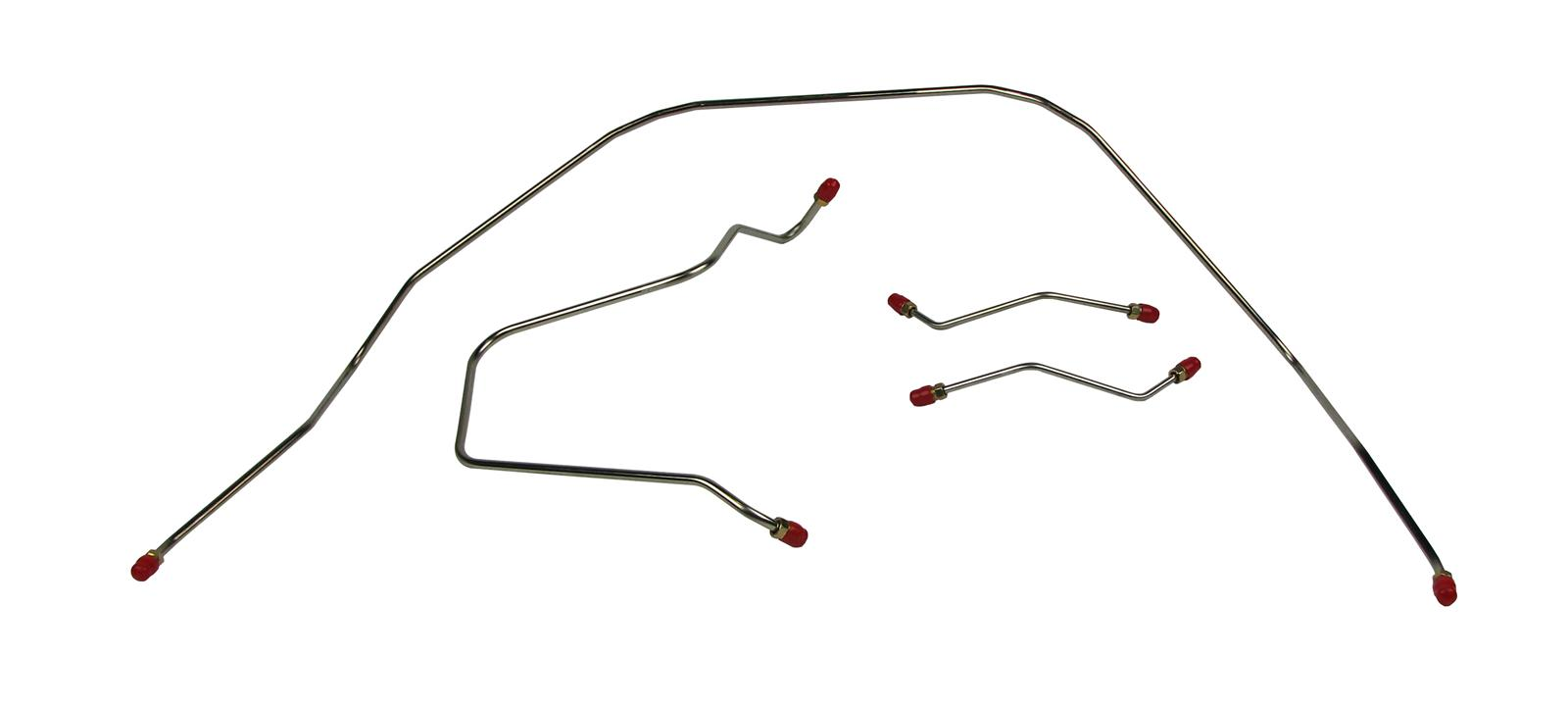 right stuff detailing bin5901 brake line steel front to