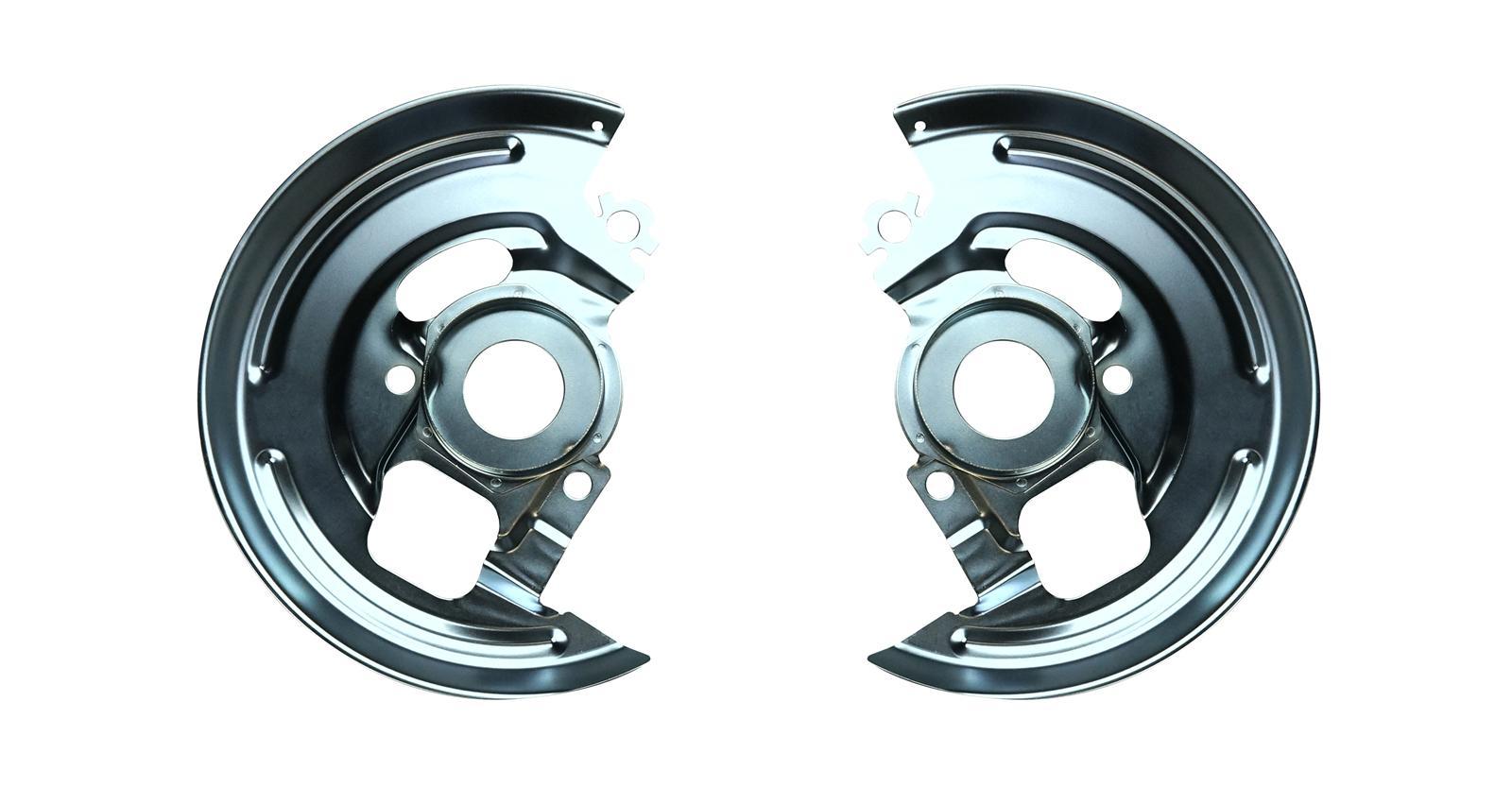 Single Pist Caliper Disc Brake Spindle Bracket Backing Plates Dust Shields 64-74