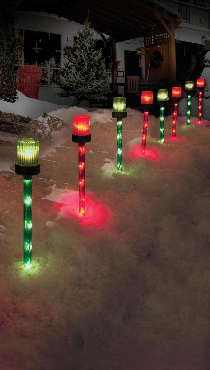 Outdoor Christmas Pathway Lights