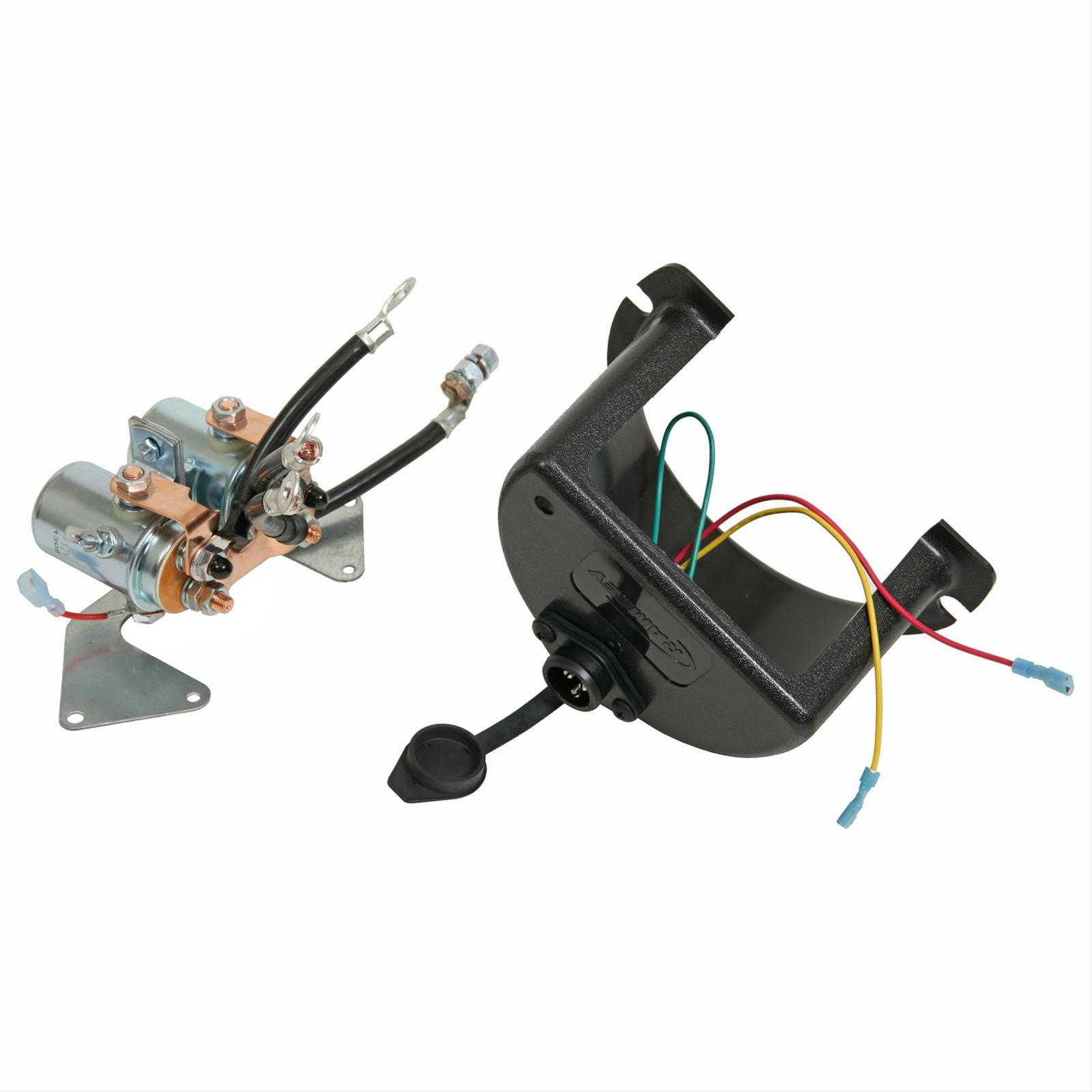 ramsey replacement winch solenoids 278170 free shipping on orders rh summitracing com ramsey 8000 lb winch wiring diagram Winch Solenoid Wiring Diagram